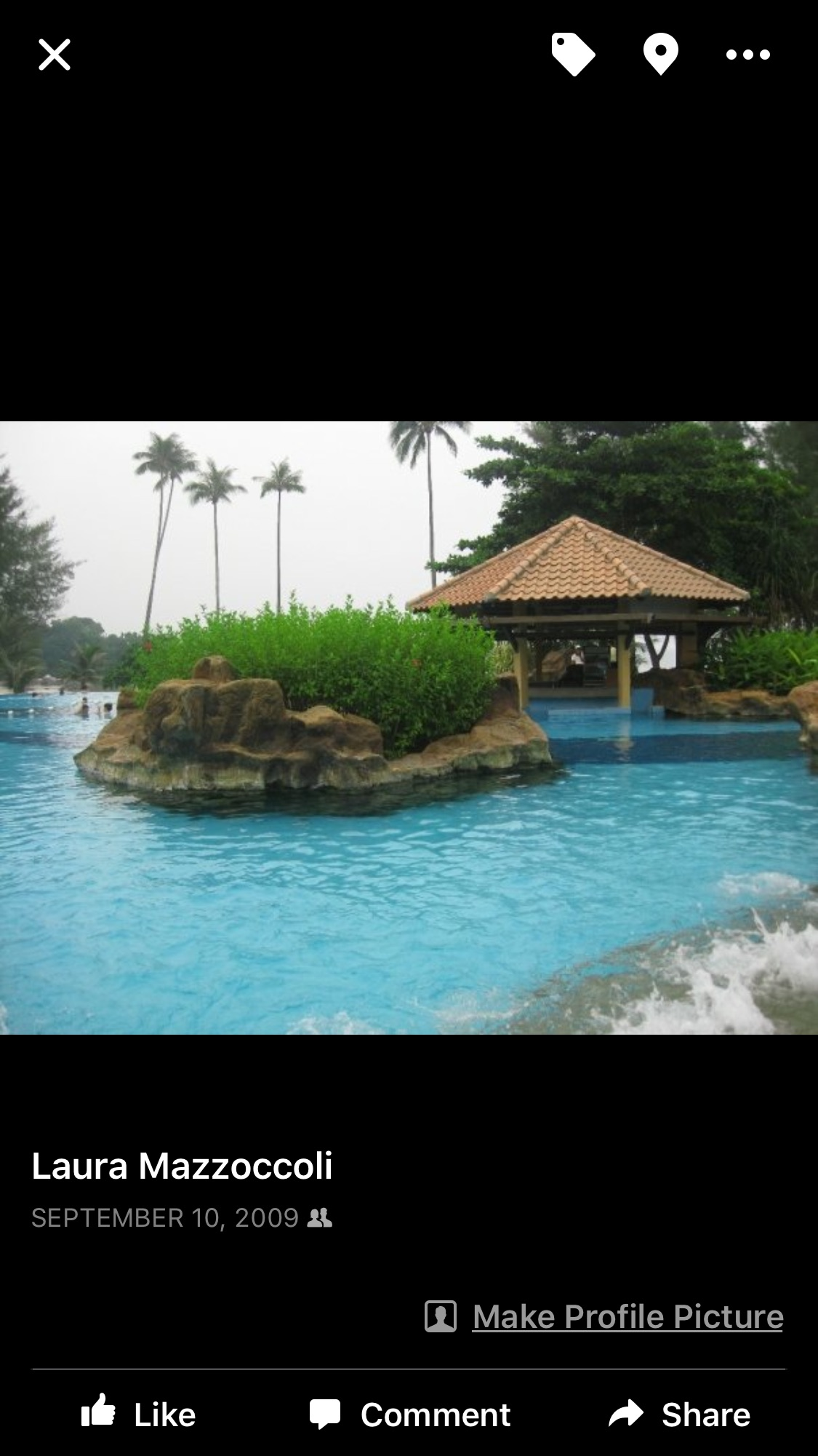 Pool in Indonesia