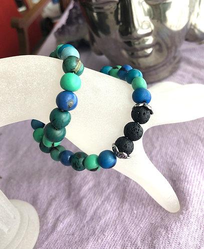 Into the Blue Infinity Bracelet