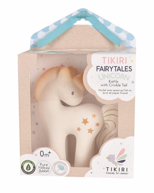 Игрушка из каучука единорог Shining Stars в подарочной упаковке Tikiri