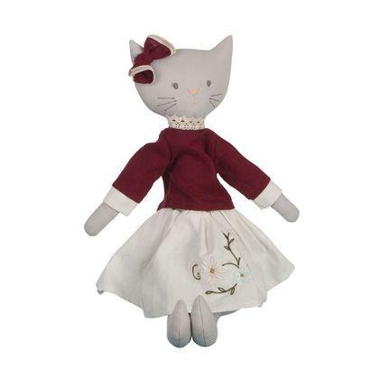 Мягконабивная кукла кошка Bellamy Bonikka