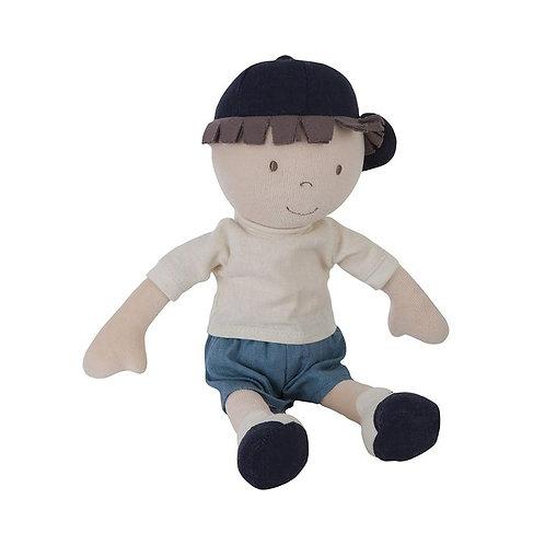 Мягконабивная кукла мальчик Jasper Bonikka