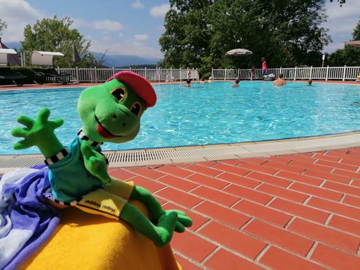 Hopsi Hopper - Schwimmkurs für 4 - 6-jährige Kinder (26. 7. - 30. 7.)