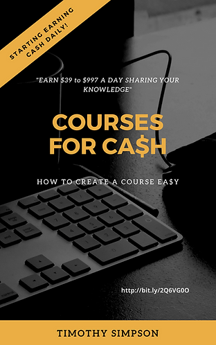 COURSES FOR CASH
