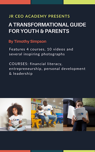 A Transformation Guide for Youth & Parents