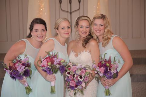 Tarin and her Bridesmaids