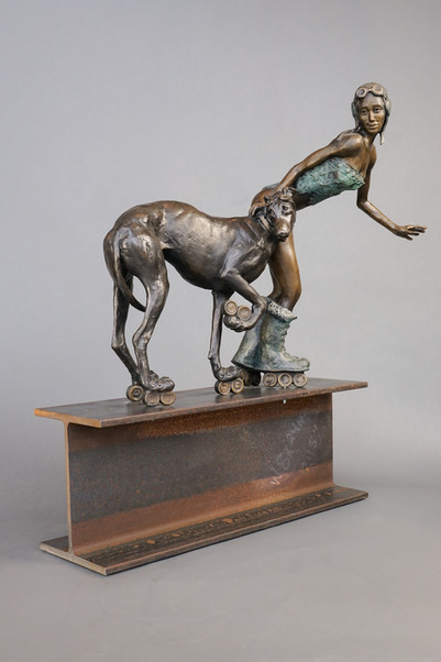 """""""I love this.  I can just sit and stare at your amazing sculptures.""""  Dawn Glaser"""