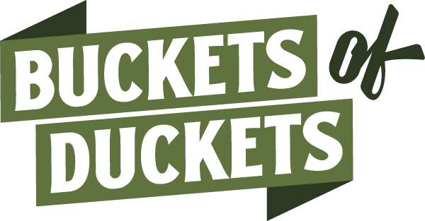 Buckets of Duckets Podcast Main Logo