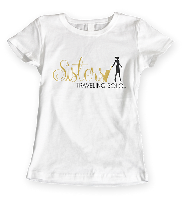 Sisters Traveling Solor Ladies T-Shirt