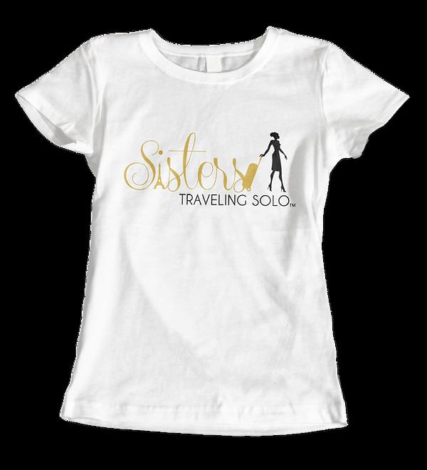 Sisters Traveling Solor Ladies T-Shirt