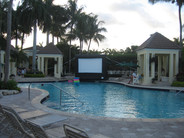 Dive In Outdoor Movie event