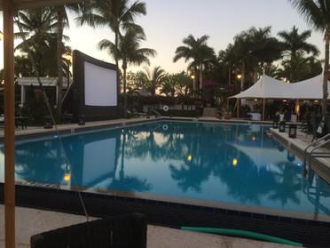 Outdoor Movie Screen Dive In