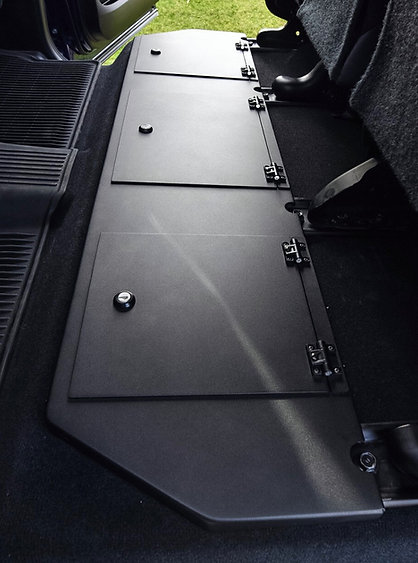 2014-2020 Toyota Tundra Crewmax Aluminum Rear Under Seat Storage Unit