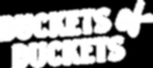 Buckets of Duckets Podcast Text Logo