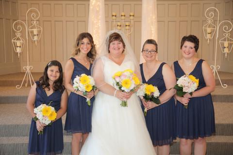 Anita and her Bridesmaids