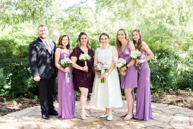 The Pecan Grove is a lovely spot for outdoor ceremonies.