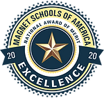 Magnet Schools of America - 2020 Excellence - National Award of Merit Logo