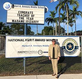 2020 Teacher of the Year - Mrs Ruiz Image