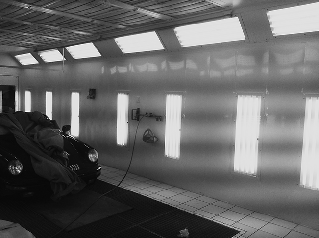 New Paint Booth Installation
