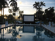 Outdoor Screen Private Events