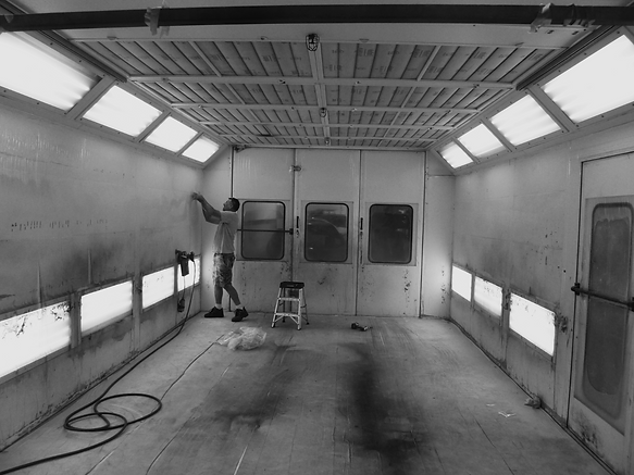 Paint Booth Restoration
