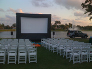 Outdoor Movie Night party