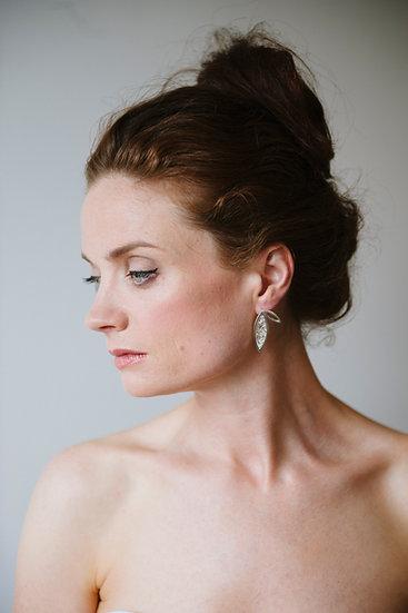 Fallen Double Earrings