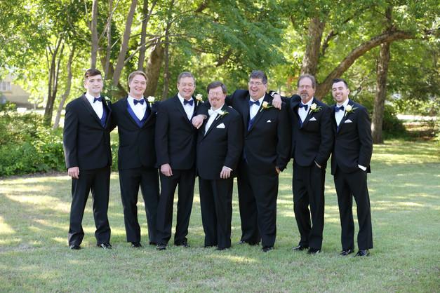 Russ and his groomsmen