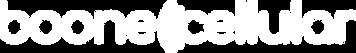 Boone Cellular White Logo