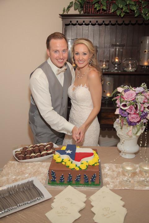 Cutting the Texas Cake