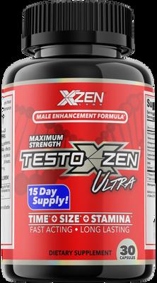 XZEN Labs TestoXzen ULTRA Male Enhancement Bottle