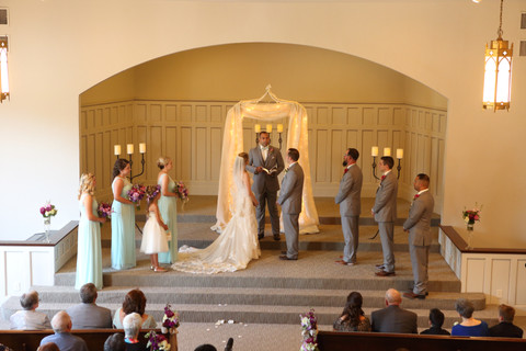 The Ceremony as seen from the Balcony