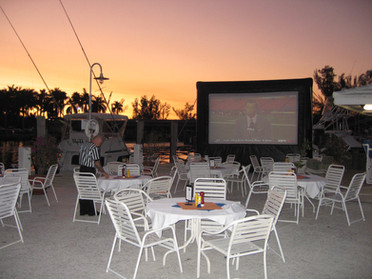 Inflatable Outdoor movie screen