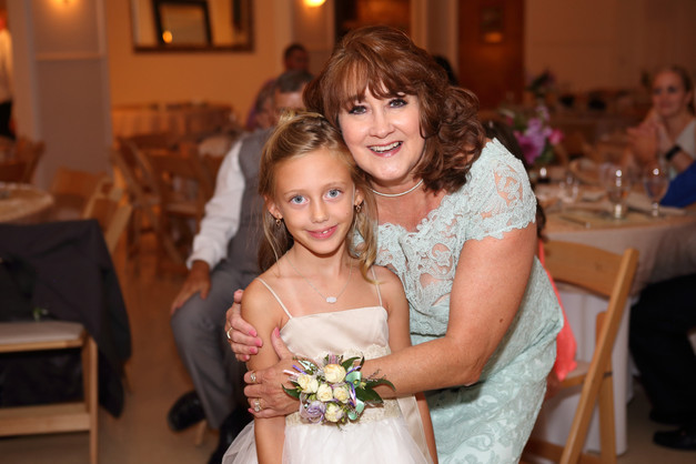 Mother of the Bride and Flower Girl