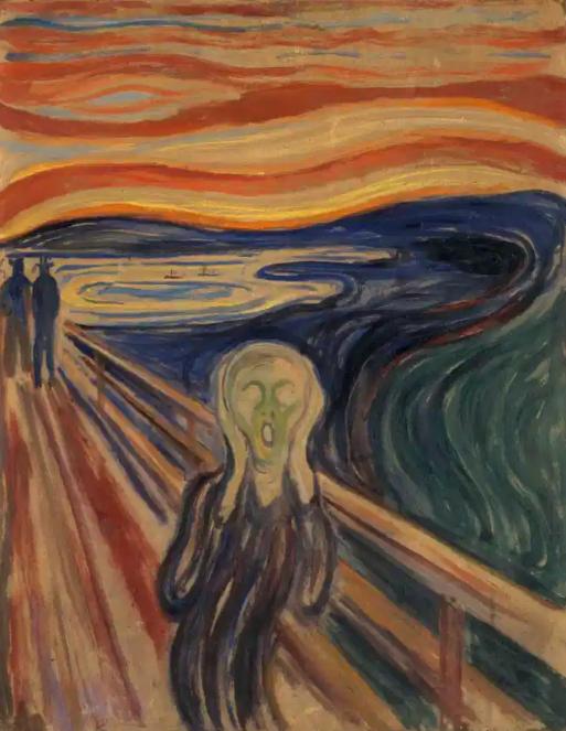 The Scream – Edvard Munch (1893)