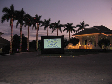 Outdoor Welcome Marquis