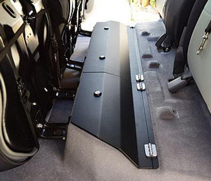 2005-2021 Toyota Tacoma Double Cab Steel/Aluminum Rear Under Seat Storage Unit