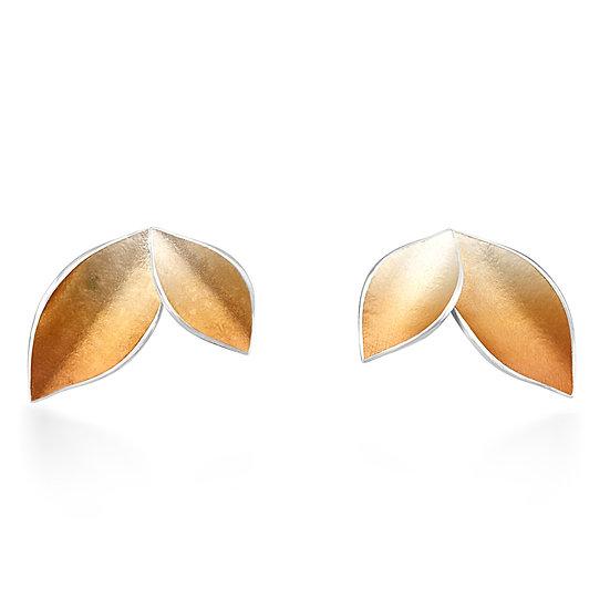 Autumnal Large Stud Earrings