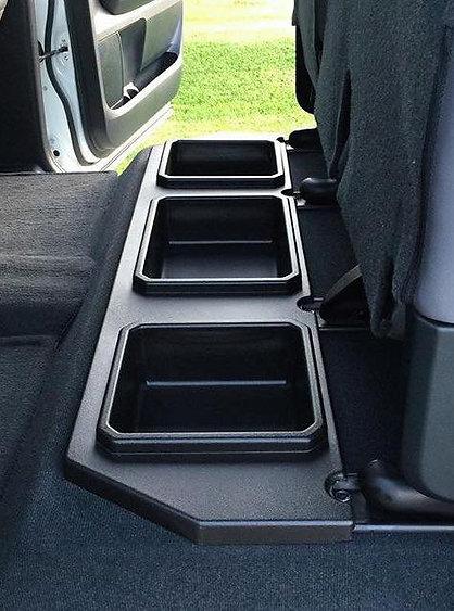 2014-2021 Toyota Tundra Crewmax Plastic Rear Under Seat Storage Unit