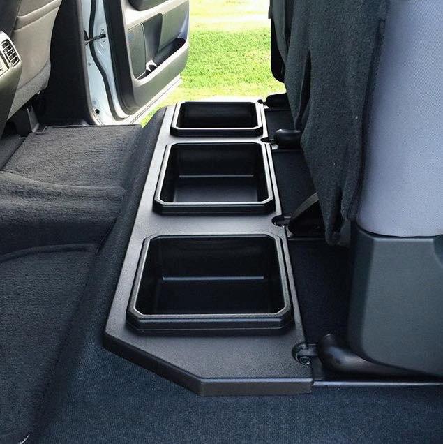ESP Truck Accessories Locking Under Seat Storage for 2014-2020 Tundra Crewmax