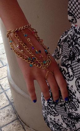 The 'Glitterbomb' Hand Chain