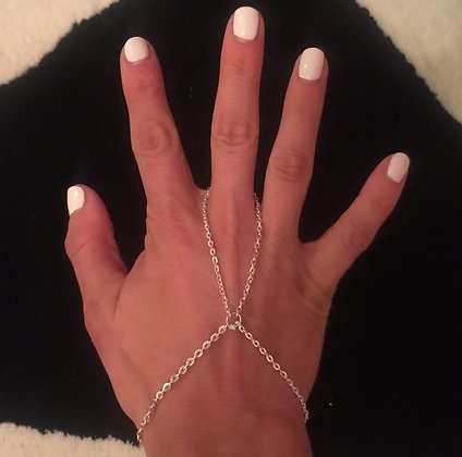 The 'Barely There' Hand Chain