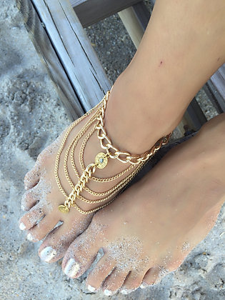 """The """"Egyptian Queen' Anklet"""