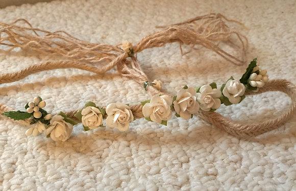 The 'Angel' Flower Crown