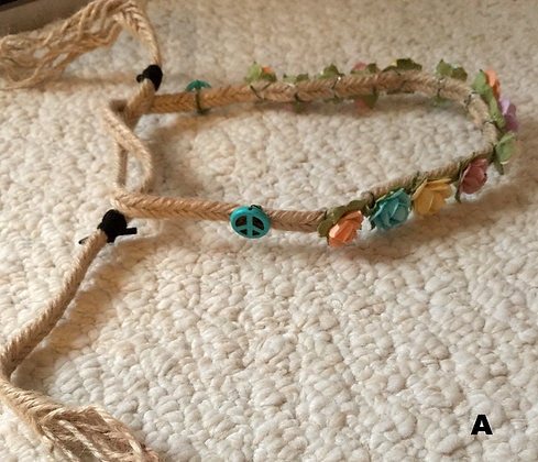 The 'Lush Hippie' Flower Crown