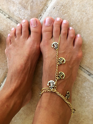 The 'Sailor Chic'  Foot Chain