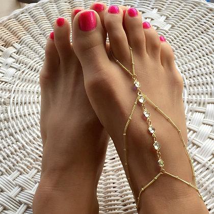 The 'Feelin' It' Foot Chain