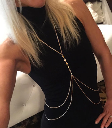 The 'Double Love' Body Chain
