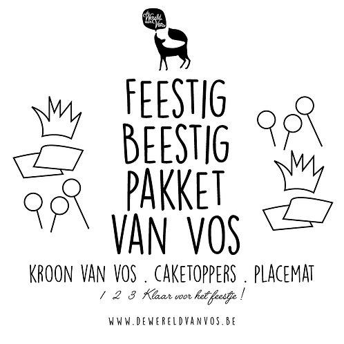 Feestig-Beestig-Pakket van Vos