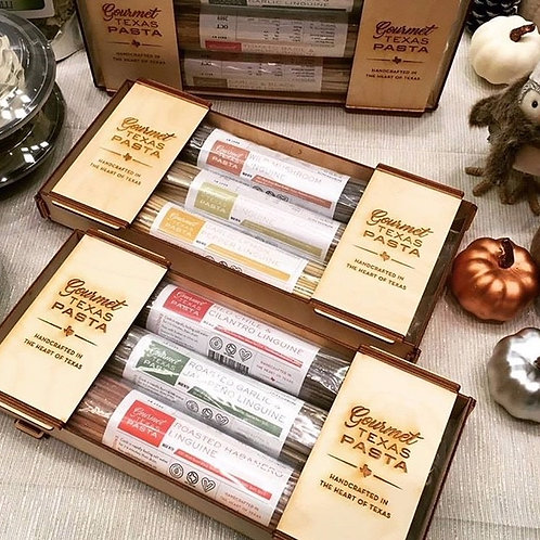 Gourmet Texas Pasta Gift Box (PASTA NOT INCLUDED, ORDER SEPERATELY)