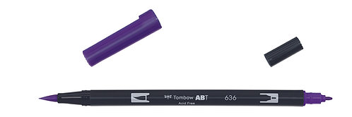 636 IMPERIAL PURPLE - TOMBOW - DUAL BRUSH
